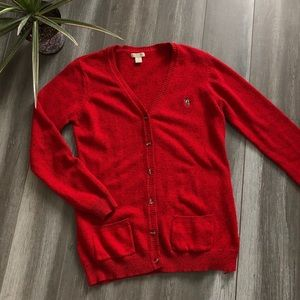 🌷2/$25🌷 U.S. Polo Assn Red Cardigan